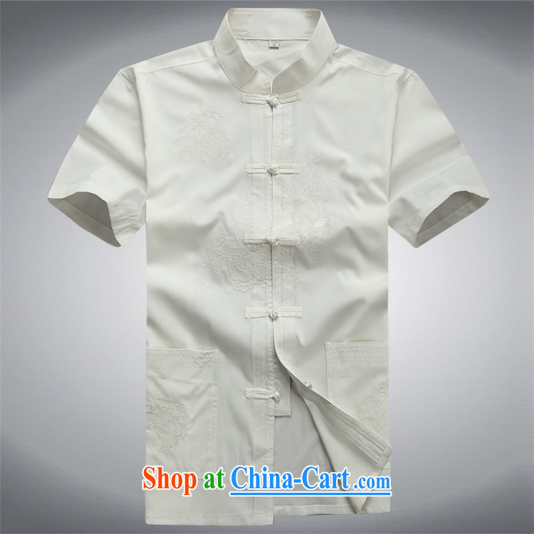 Putin's European men's Chinese short-sleeve kit summer China wind Chinese men's father Red Kit XXXL/190 pictures, price, brand platters! Elections are good character, the national distribution, so why buy now enjoy more preferential! Health