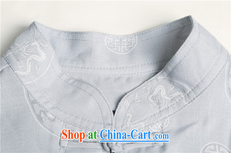 Beijing in the older summer With Grandpa short sleeve large, Chinese men and set the Kowloon Yau Ma Tei cotton half sleeve Tang replace linen package white 4XL/190 pictures, price, brand platters! Elections are good character, the national distribution, so why buy now enjoy more preferential! Health