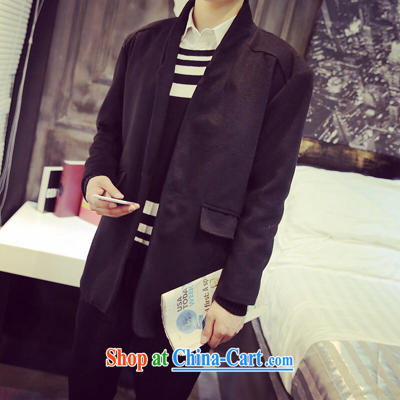 Flows toward the 2015 autumn and the new slim, so Coat jacket classic men's loose coat is genuine package mail