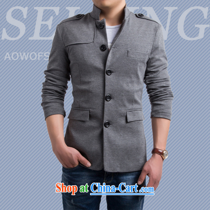2015 stylish men's clothing fall/winter New Beauty England, for casual clothing men and smock gray XXL