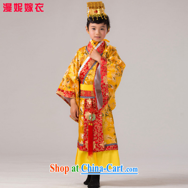 Time Syrian Arab children costumed Boys show the service Chinese Han-chin Han-dynasty reigning Prince COS photography costumes Tang dynasty Prince 130