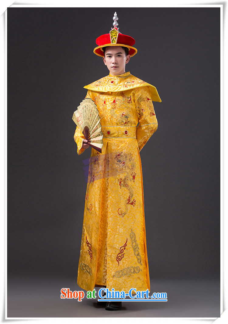Time Syrian costumes clothing men and ancient Qing dynasty imperial Emperor Emperor loaded dragon robe film photography Prince Edward, served King Show photo building photo service costumes adult, pictures, price, brand platters! Elections are good character, the national distribution, so why buy now enjoy more preferential! Health