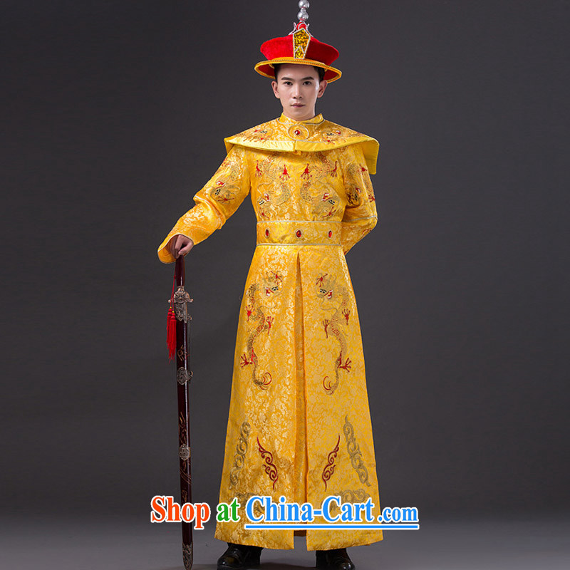 Time SYRIAN ARAB costumes clothing men and ancient Qing dynasty imperial Emperor Emperor loaded dragon robe film photography Prince Edward, served King Show photo building photo service costumes adult, time, and shopping on the Internet