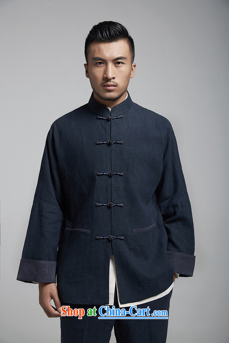 Wind, The 1000 pure Chinese double-shoulder tang on the 2015 autumn jacket embroidery and the high-end comfort and original Chinese Wind and dark blue 50/180 pictures, price, brand platters! Elections are good character, the national distribution, so why buy now enjoy more preferential! Health