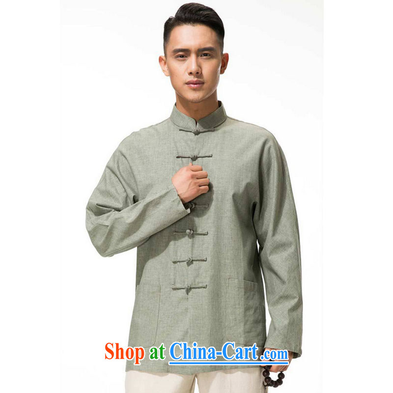 Stakeholders line cloud men's cotton the Commission, for the charge-back Tang with long-sleeved T-shirt, older leisure long-sleeved multi-colored DYTM - X beans green XXXL stakeholders, the cloud (YouThinking), and, on-line shopping