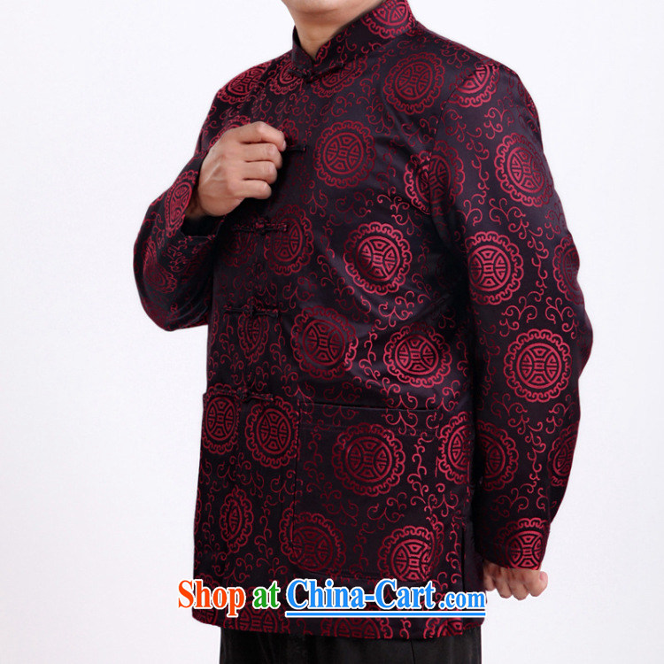 Stakeholders line cloud fall and winter elderly grandparents, older men Tang jackets male DY 1338 red XXXL pictures, price, brand platters! Elections are good character, the national distribution, so why buy now enjoy more preferential! Health