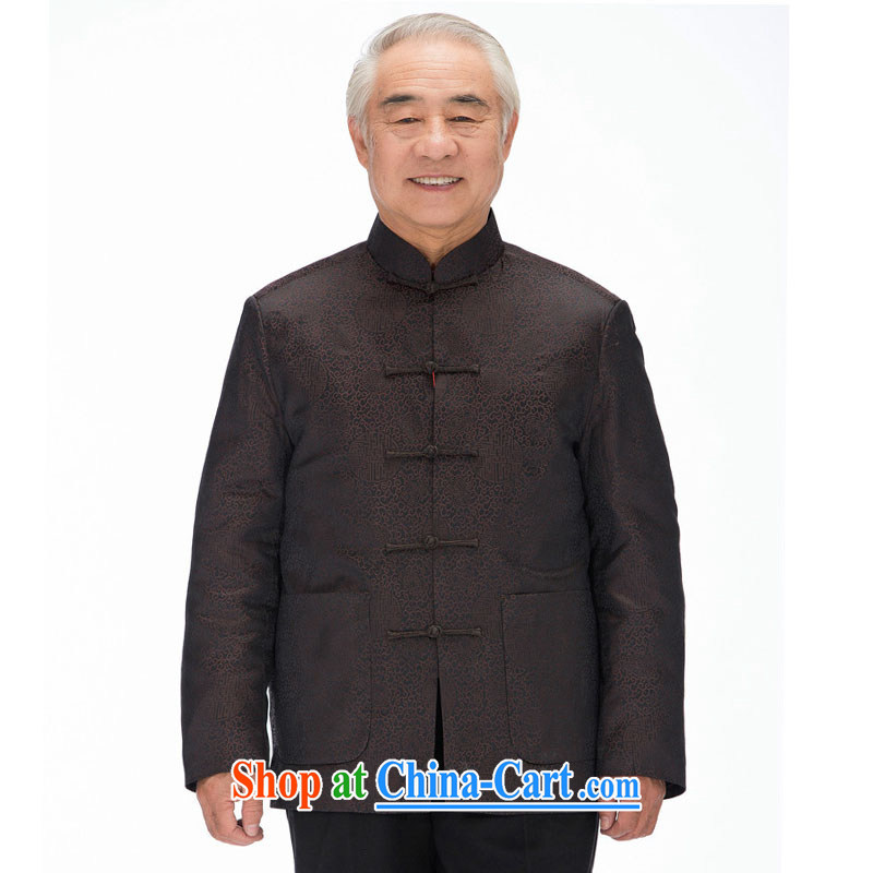 Stakeholders line cloud men Chinese cotton Chinese, for emulation, the Cotton Chinese Chinese cotton suit Male DY 1212 brown XXXL stakeholders, the cloud (YouThinking), and, on-line shopping
