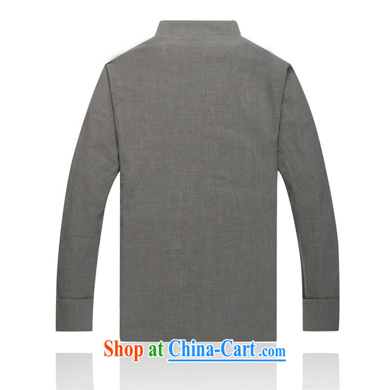 Stakeholders line cloud cotton the thick, male Tang with linen, older High Tang with a shoulder long-sleeved T-shirt with lined DY 0738 light gray XXL stakeholders, the cloud (YouThinking), and, on-line shopping