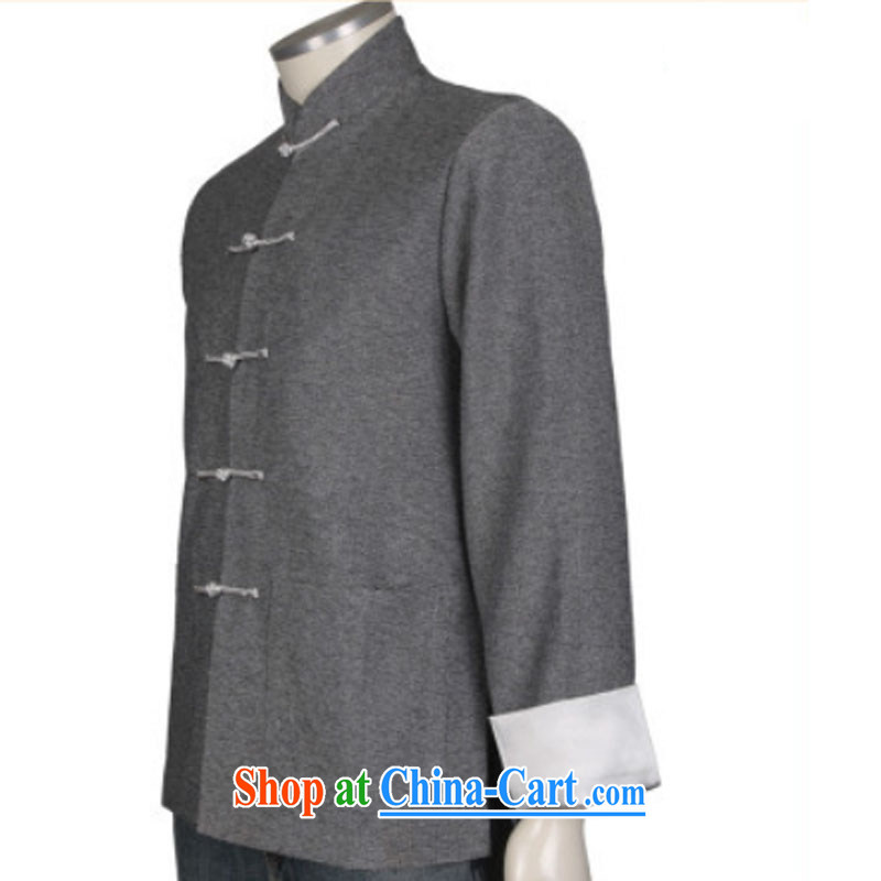 Stakeholders line cloud Chinese, in older Chinese men's linen gray jacket men and Chinese wind national costumes DY 0308 gray XXXL stakeholders, the cloud (YouThinking), and, on-line shopping