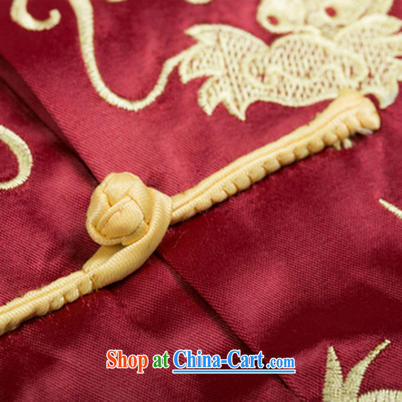 Line-of-Chinese, for Chinese Ethnic Wind in older double-lung embroidery, performances and serving DY 004 red XXXL, stakeholders line cloud (YouThinking), and, on-line shopping