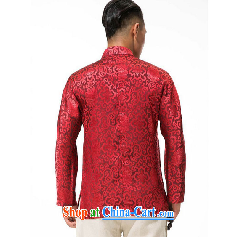 Stakeholders line cloud cotton Ma Man Tang jackets spring and thick, and manually for the tie long-sleeved men Tang replace DY 003 red XXXL stakeholders, the cloud (YouThinking), and, on-line shopping