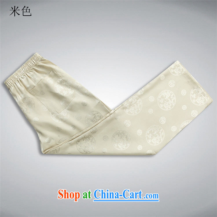 The chestnut mouse new, middle-aged and older Chinese summer wear long-sleeved T-shirt, shirt collar middle-aged men with short T-shirt Dad loaded male beige Kit XXXL pictures, price, brand platters! Elections are good character, the national distribution, so why buy now enjoy more preferential! Health