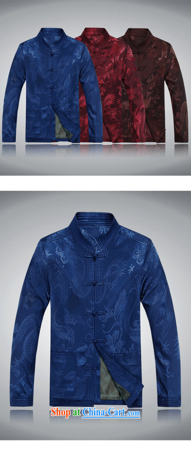 Top Luxury autumn and winter, and Tang is set up for the charge-back men's jackets T-shirt Dad load the older Chinese jacket Chinese blue, served coffee-colored package XXXL/190 pictures, price, brand platters! Elections are good character, the national distribution, so why buy now enjoy more preferential! Health