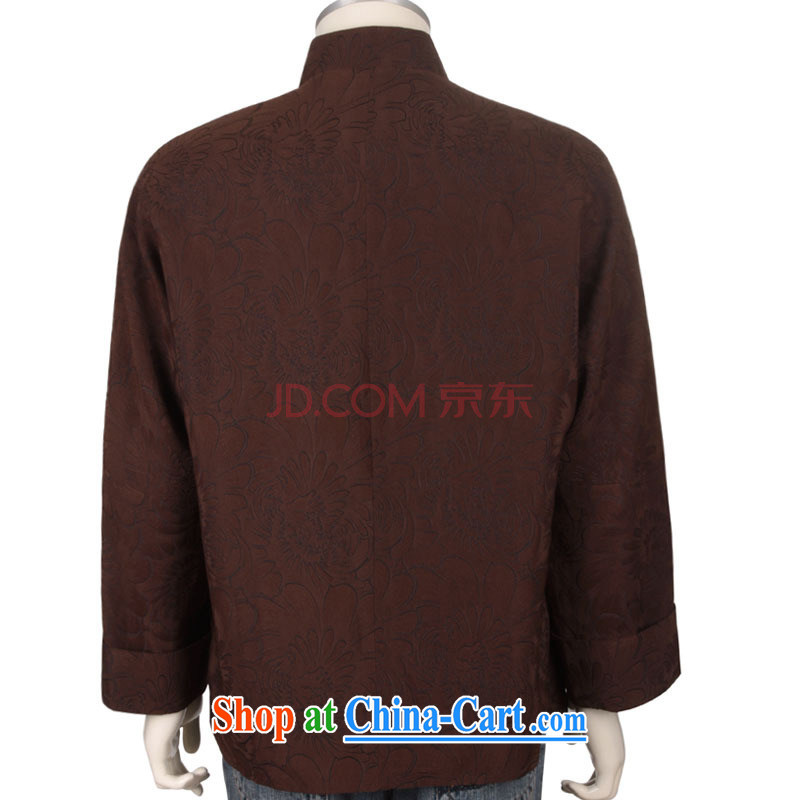 Stakeholders line cloud high quality Chinese long-sleeved T-shirt and elegant Daisy men Han-chinese DYA 1203 brown L stakeholders, the cloud (YouThinking), and, on-line shopping