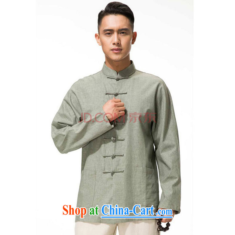 Stakeholders line cloud men's cotton the Commission, for the charge-back Tang with long-sleeved T-shirt, older leisure long-sleeved multi-colored DYTM - X beans green M stakeholders, the cloud (YouThinking), and, on-line shopping