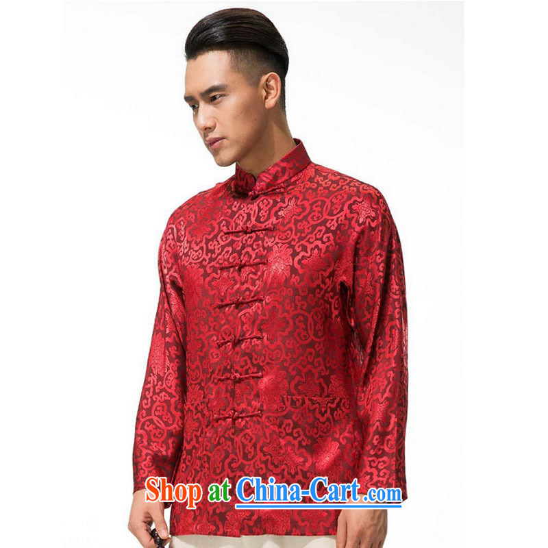 Stakeholders line cloud cotton Ma Man Tang jackets spring and thick, and manually for the tie long-sleeved men Tang replace DY 003 red L stakeholders, the cloud (YouThinking), and, on-line shopping