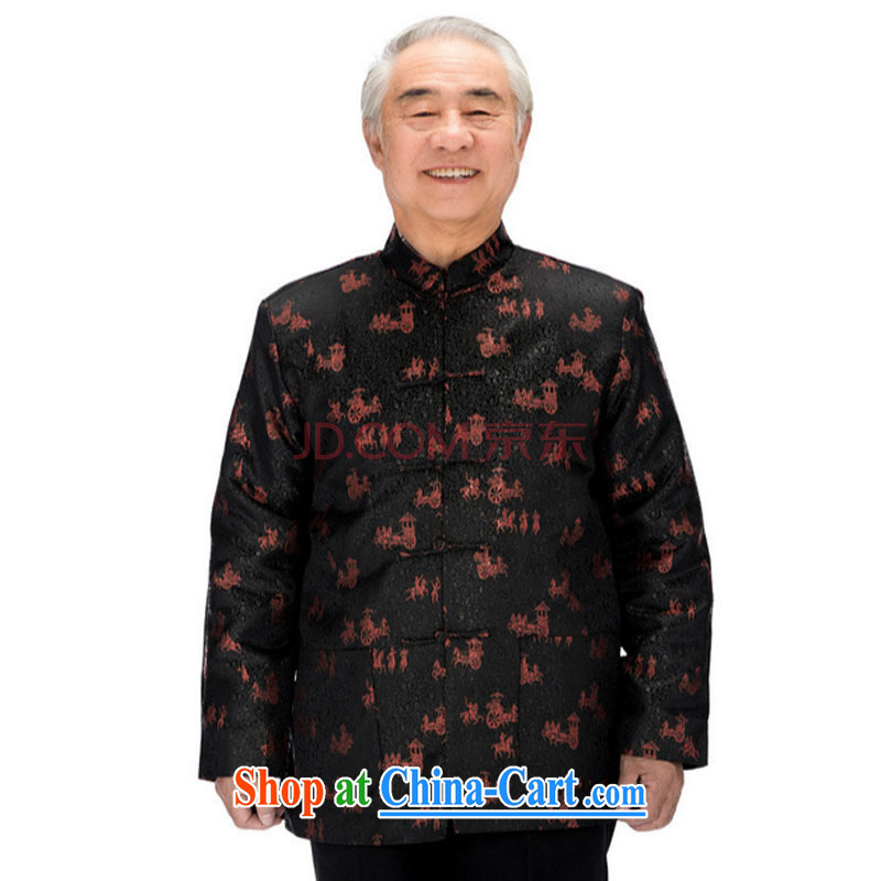 The stakeholders in the Cloud older clothing man, T-shirt Chinese men's long-sleeved parka brigades