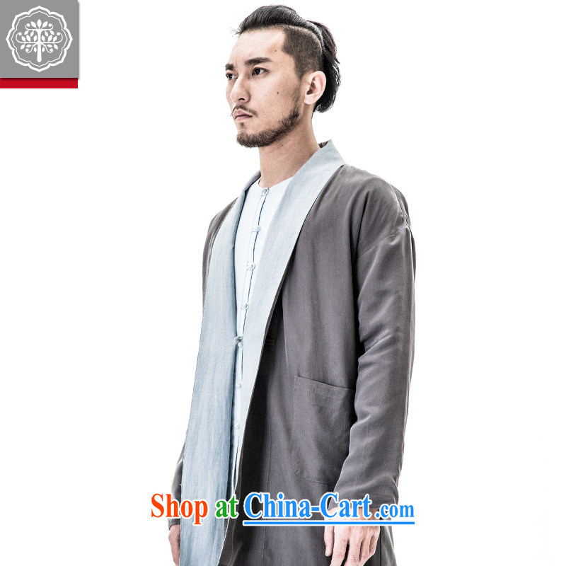 to tree fall 2015 new Chinese men and improved the service men's jackets Chinese original cynosure serving men and Chinese wind lime 185/XXL, tree (EYENSREE), shopping on the Internet