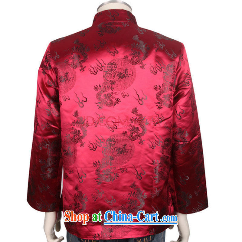 The stakeholders in the Cloud older style Chinese T-shirt men's winter Chinese cotton jacket, serving DY 0708 red L, stakeholders line cloud (YouThinking), and, on-line shopping