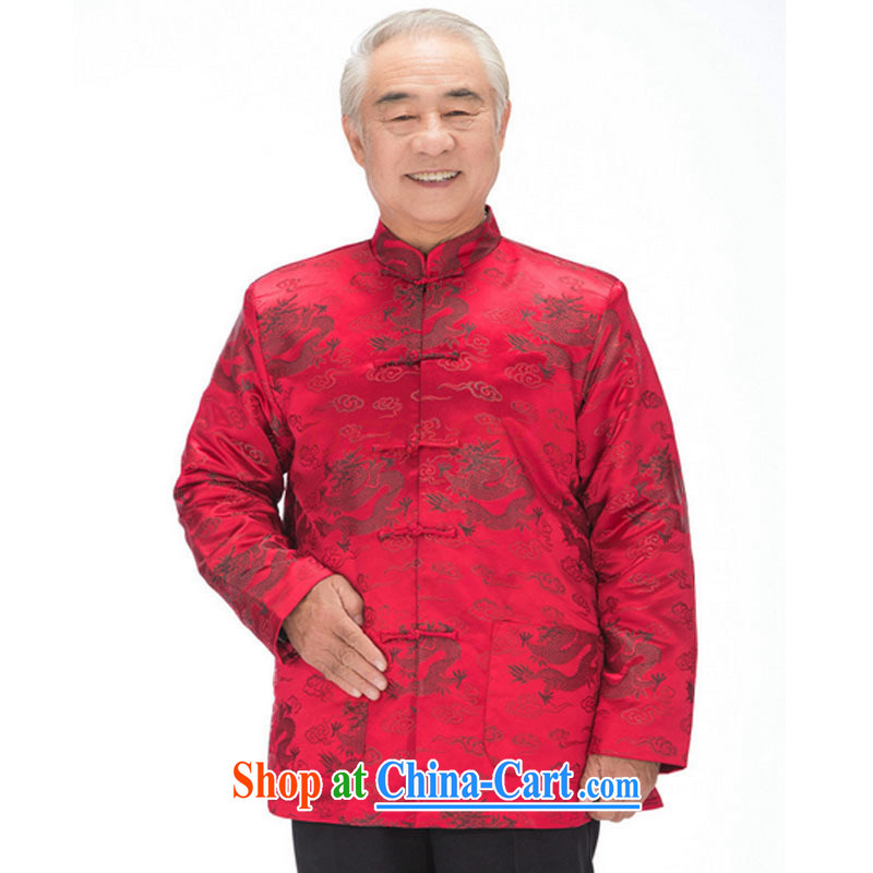 Stakeholders line cloud fall and winter men and women quilted Chinese phoenix Mom and Dad golden coat, older couples with DY 0876 wine red M stakeholders, the cloud (YouThinking), and, on-line shopping