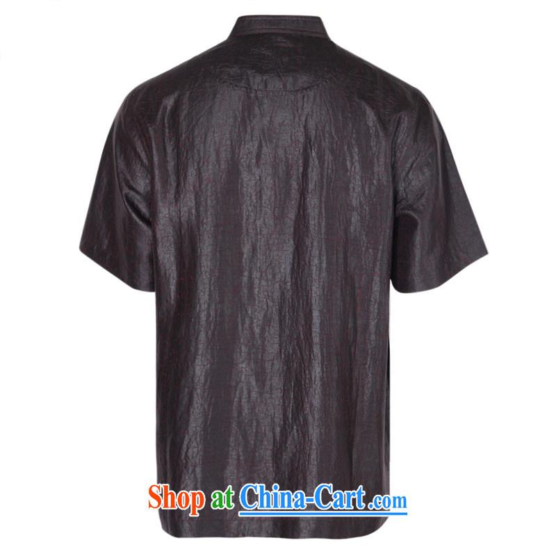 To Kowloon Tong on 2015 summer New China wind male tortoises fragrant cloud yarn T-shirt 15,013 dark blue Red 48, dark blue 48 to Kowloon, and shopping on the Internet