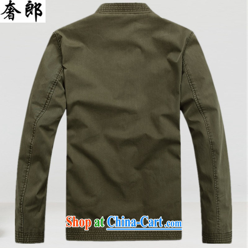 extravagance, autumn and winter, new life has been older people in Chinese middle-aged long-sleeved, for men's T-shirt men's national costumes improved retro jacket T-shirt 3 color XXXL, extravagance, and shopping on the Internet