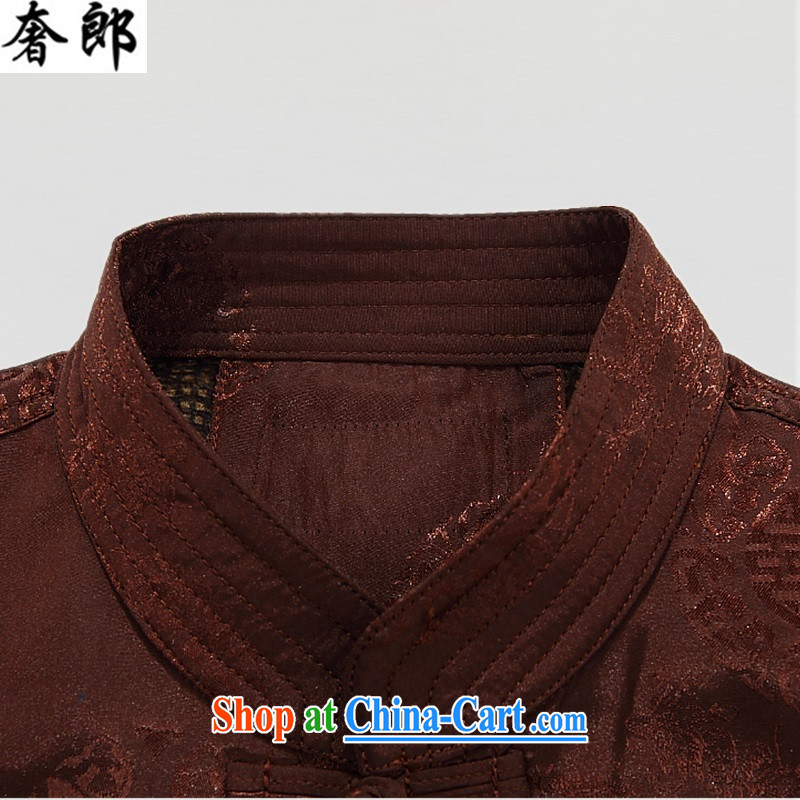 extravagance, in winter, the old Tang jackets men's cotton suit jacket elderly warm festive jacket jacket China wind up for the fat and dress and color XXXL, extravagance, and shopping on the Internet