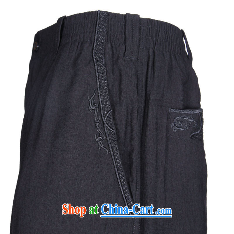 To Kowloon Tong on summer China wind men 5 pants 13,111 black 48, black 52, to lung, shopping on the Internet