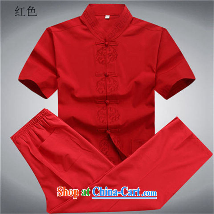 Putin's European men's summer New Tang replace short-sleeve Tang loading in the older half sleeve Chinese men and a short-sleeved Tang replace Kit beige Kit XXXL/190 pictures, price, brand platters! Elections are good character, the national distribution, so why buy now enjoy more preferential! Health