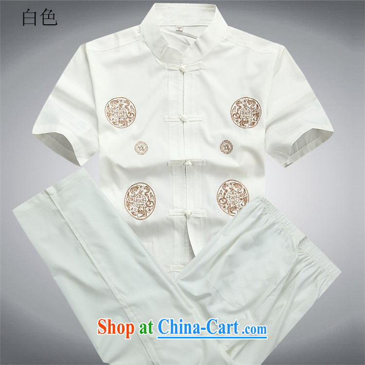 Putin's European men's summer New Tang replace short-sleeve Tang replace older half sleeve Chinese men and a short-sleeved Tang package Blue Kit XXXL/190 pictures, price, brand platters! Elections are good character, the national distribution, so why buy now enjoy more preferential! Health