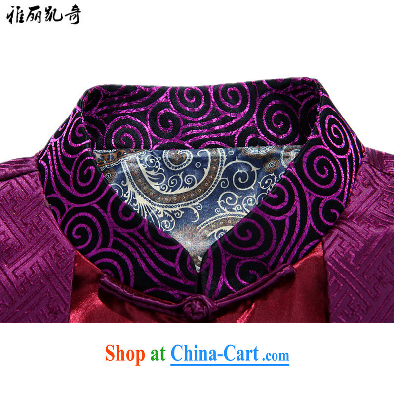 Alice Kay, upscale silk scarves Tang with spring loaded new men's Chinese Chinese, for improved retro smock dresses spring and fall jacket clothing and Ho Kim XXXL, Alice, Kevin, shopping on the Internet