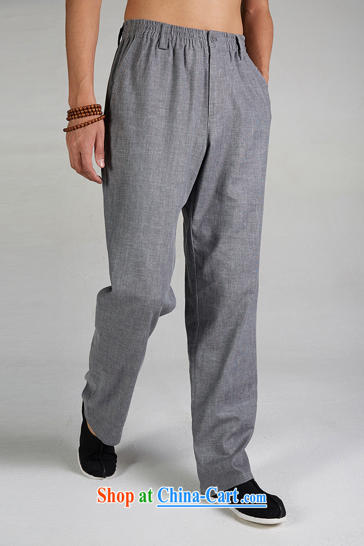 FZOG China wind antique Chinese long pants, comfortable men's counters are jogging pants from hot dark gray XXXL pictures, price, brand platters! Elections are good character, the national distribution, so why buy now enjoy more preferential! Health