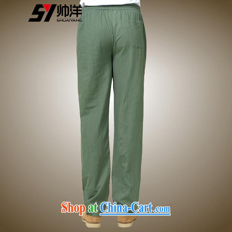 cool ocean autumn 2015 The New Men's short pants Chinese style Chinese pants black 185/XXL, cool ocean (SHUAIYANG), shopping on the Internet