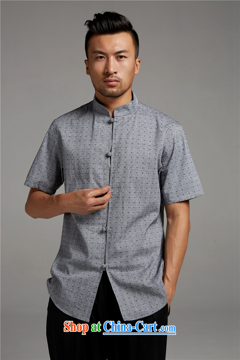FZOG short-sleeved summer male China wind Lounge, for popular stamp gray thin breathable Tang with gray XXXL pictures, price, brand platters! Elections are good character, the national distribution, so why buy now enjoy more preferential! Health