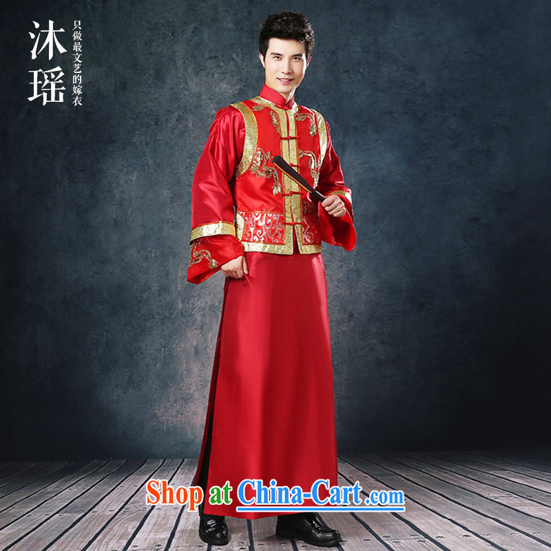 Mu Yao 2015 new Chinese wedding Summer Package Man Soo kimono Sau Wo ...