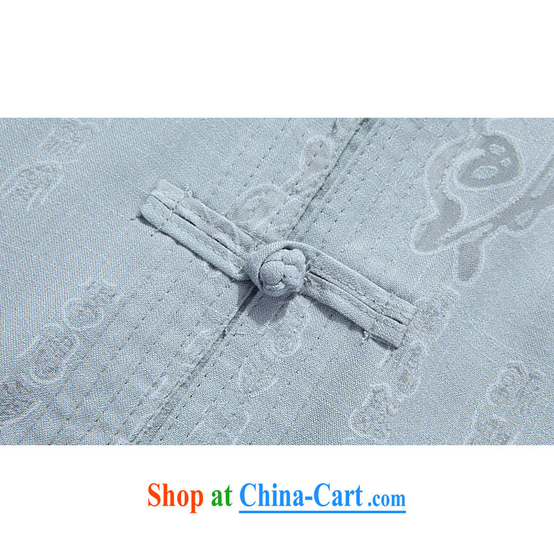 The Royal free Paul men's 2015 fall/winter New Products Chinese men's long-sleeved Tang replacing the older clothing jacket Kit Tang on the package mail White/A 190, the Dili free Paul (KADIZIYOUBAOLUO), shopping on the Internet