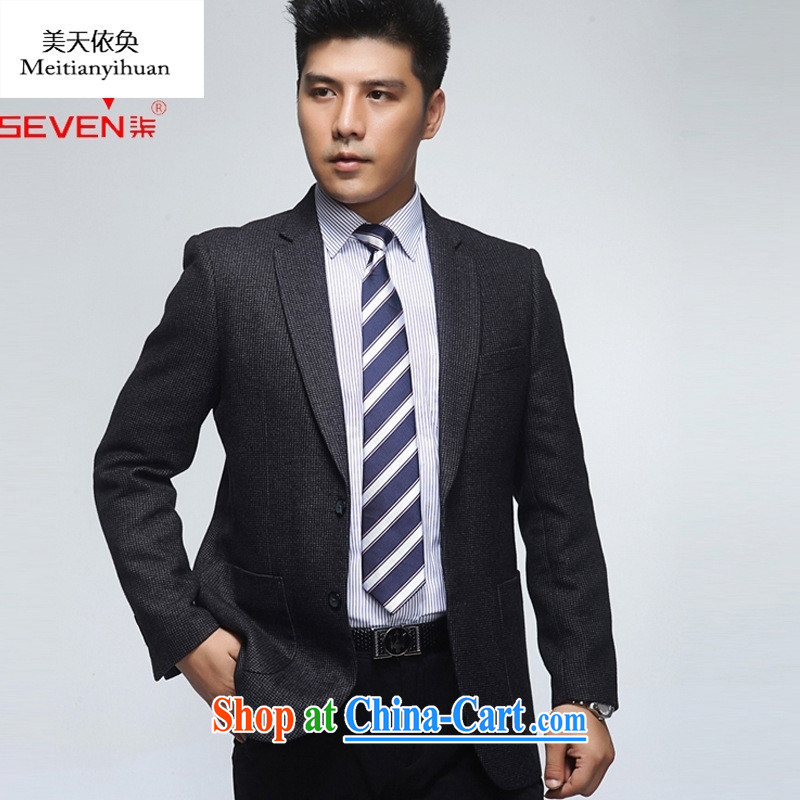 New Men's suit middle-aged men's woolen click the Standard men's casual jacket shown in Figure 190 56