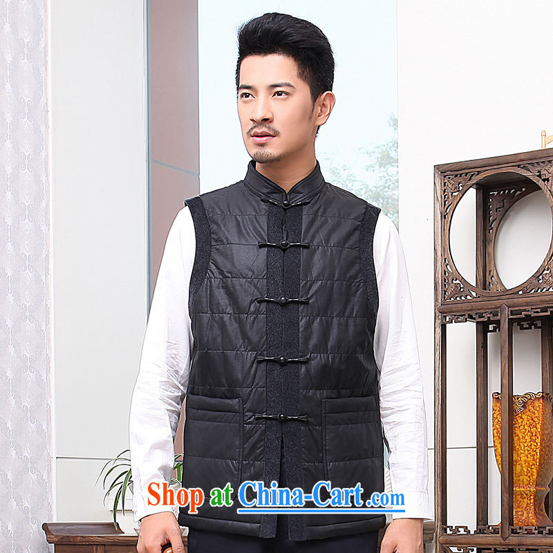 To Kowloon Tong with autumn and winter, China Men, shoulder vest 13,889 black 48, black 52
