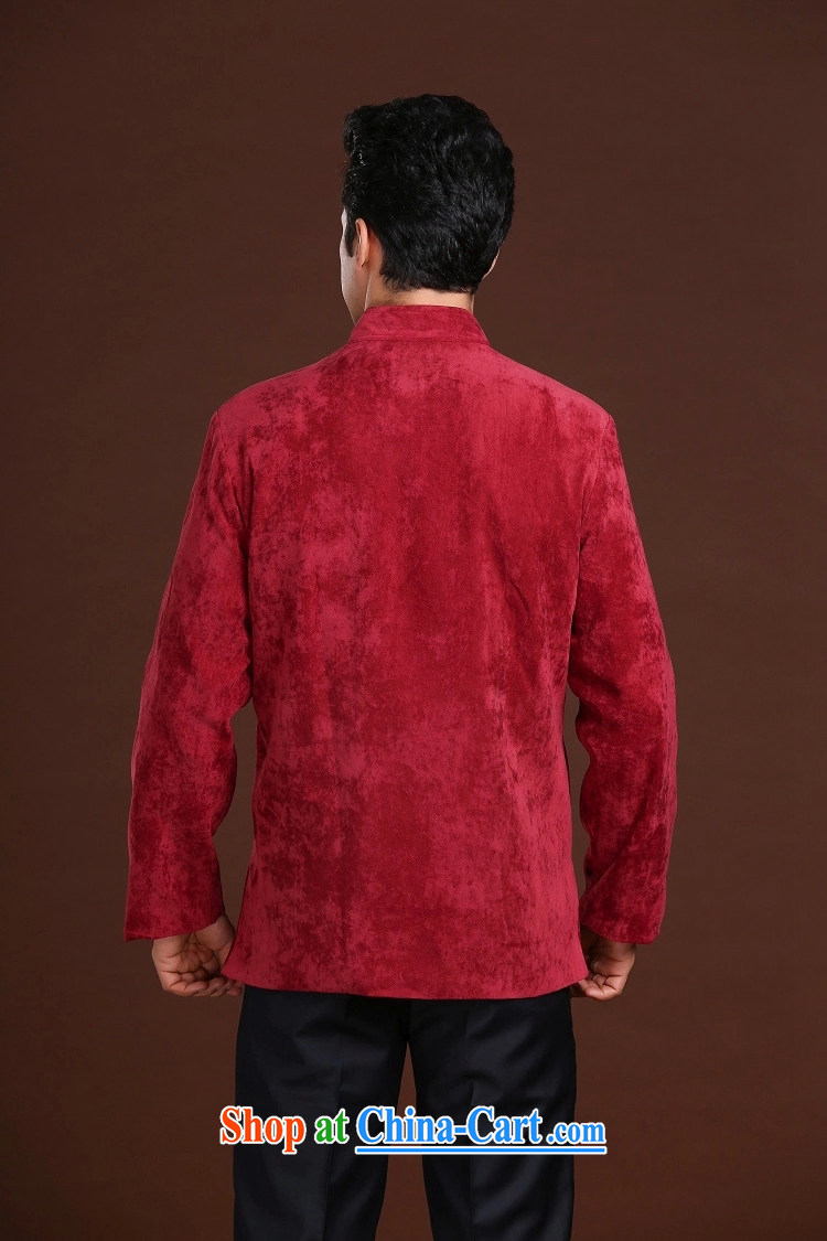 FZOG leisure Simple Chinese Wind and stamp the animal middle-aged men's long-sleeved loose Tang red XXXXL pictures, price, brand platters! Elections are good character, the national distribution, so why buy now enjoy more preferential! Health