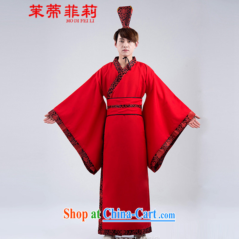 Energy Mr. Philip Li Feng Huang Han-men's formal direct civil-service reform Chinese wedding costumes black are code