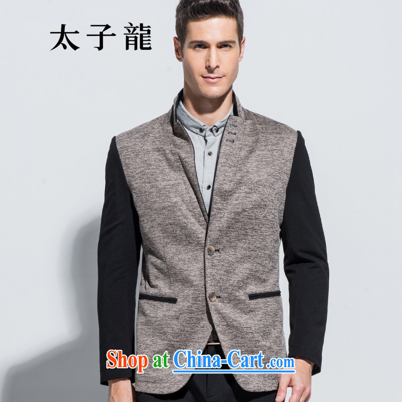 Prince Edward, Autumn new counters Synchronization Click the Snap Leisure Suit men's jackets gray B 600 185/XXL