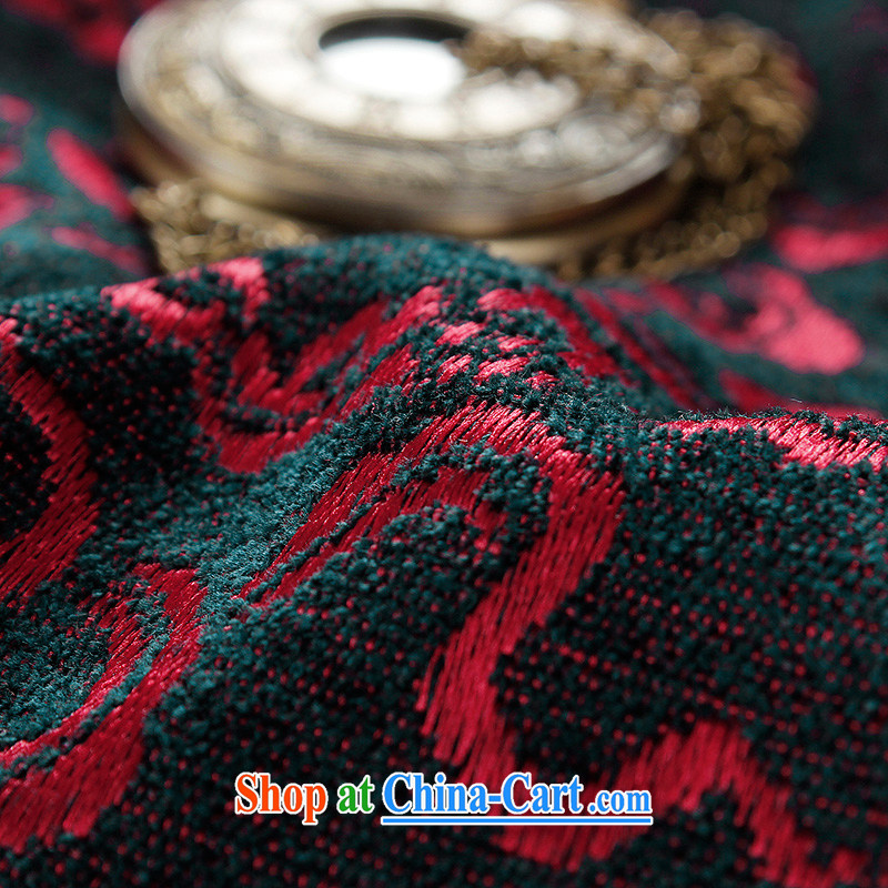 Products HANNIZI new older persons in Chinese men over his birthday banquet Chinese Dress medieval wind stage with deep red 190, Korea, (hannizi), and shopping on the Internet