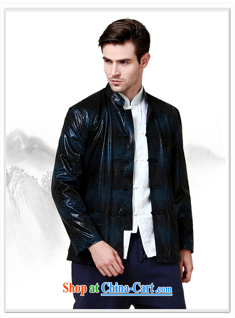 Products HANNIZI classical minimalist men Chinese polyester long-sleeved jacket China wind up for the charge-back jacket dark blue 190 pictures, price, brand platters! Elections are good character, the national distribution, so why buy now enjoy more preferential! Health