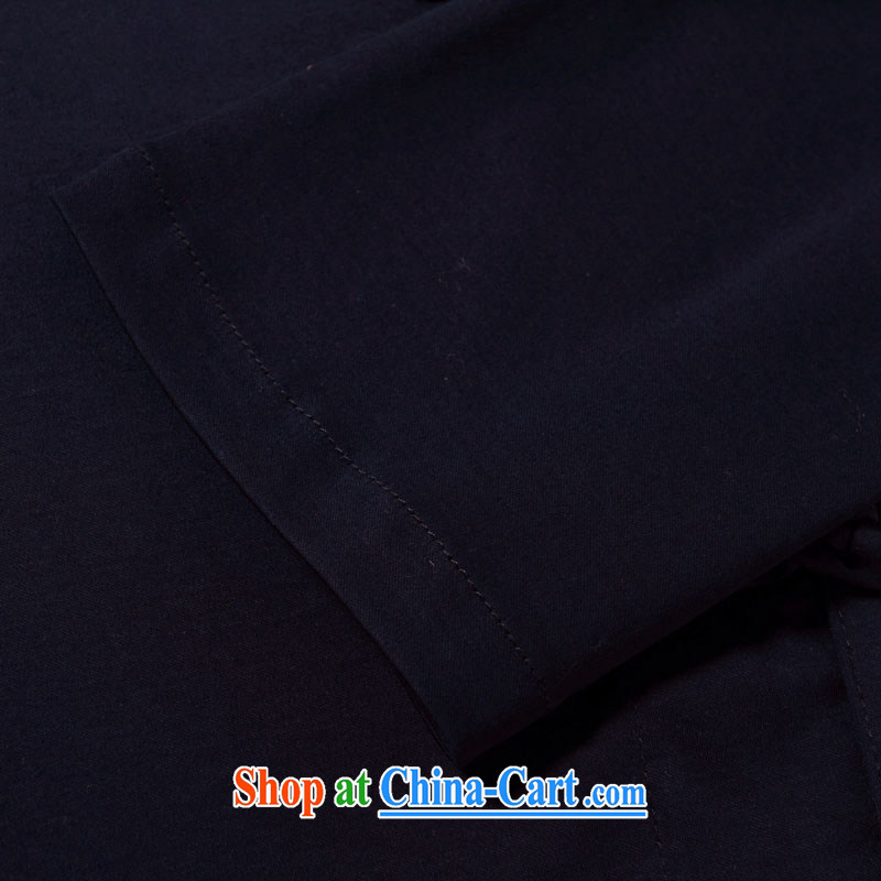 Products HANNIZI classical beauty tang on long-sleeved shirt China wind up for the charge-back shirts natural cotton the male jacket dark blue 185, Korea, (hannizi), and, on-line shopping