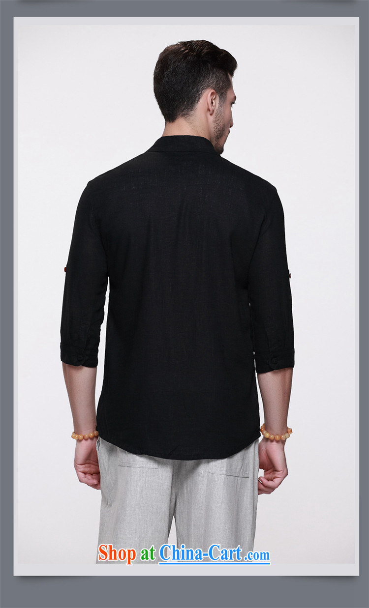 Products HANNIZI natural linen men's Chinese-tie, for Chinese men's jackets China wind cultivating stereo shirt black 185 pictures, price, brand platters! Elections are good character, the national distribution, so why buy now enjoy more preferential! Health