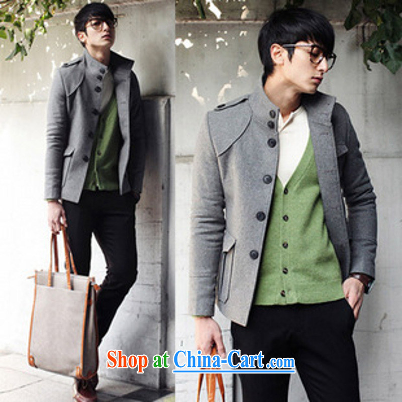 Dan Jie Shi _DANJIESHI_ 2015 stylish autumn and winter with new men's jackets, Japan, and South Korea edition jacket beauty hair? The Generalissimo stylish lounge coffee L
