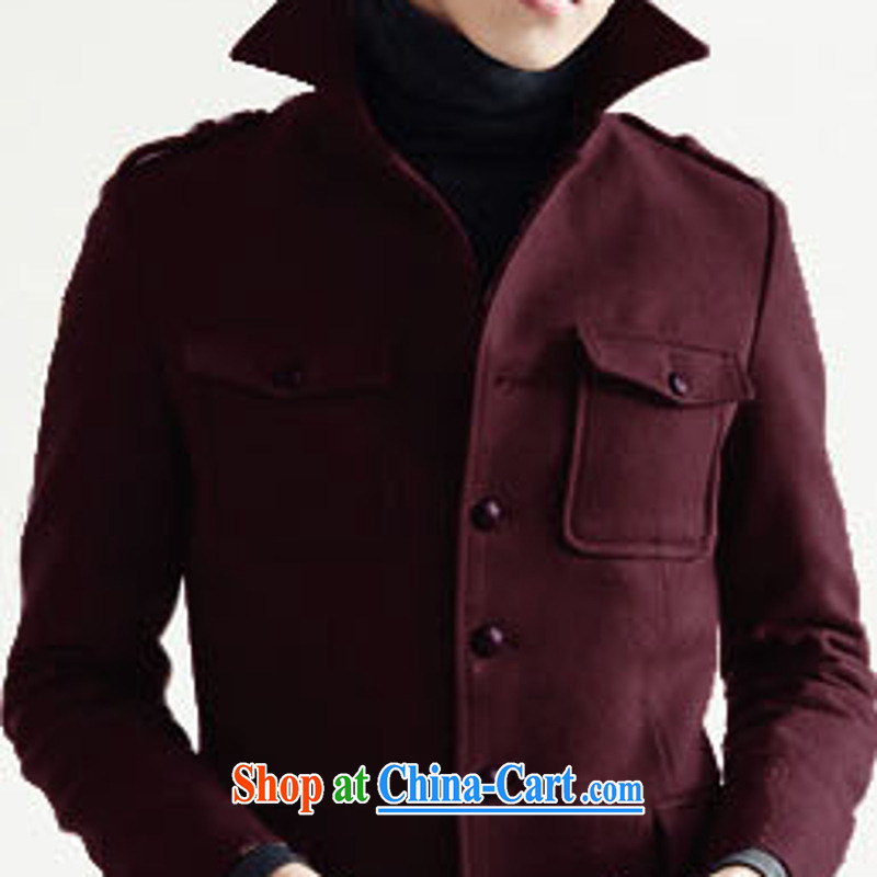 Dan Jie Shi (DANJIESHI) 2015 stylish fall on the Korean beauty lounge jacket hair? The jacket and collar retro smock male and black XL, Dan Jie Shi (DAN JIE SHI), shopping on the Internet