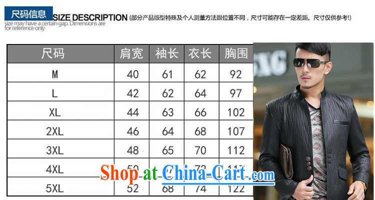 Dan Jie Shi (DANJIESHI) 2015 youth leisure and stylish high-end up, business men and taxi stand collar leather jacket smock jacket suits the color XXXL pictures, price, brand platters! Elections are good character, the national distribution, so why buy now enjoy more preferential! Health