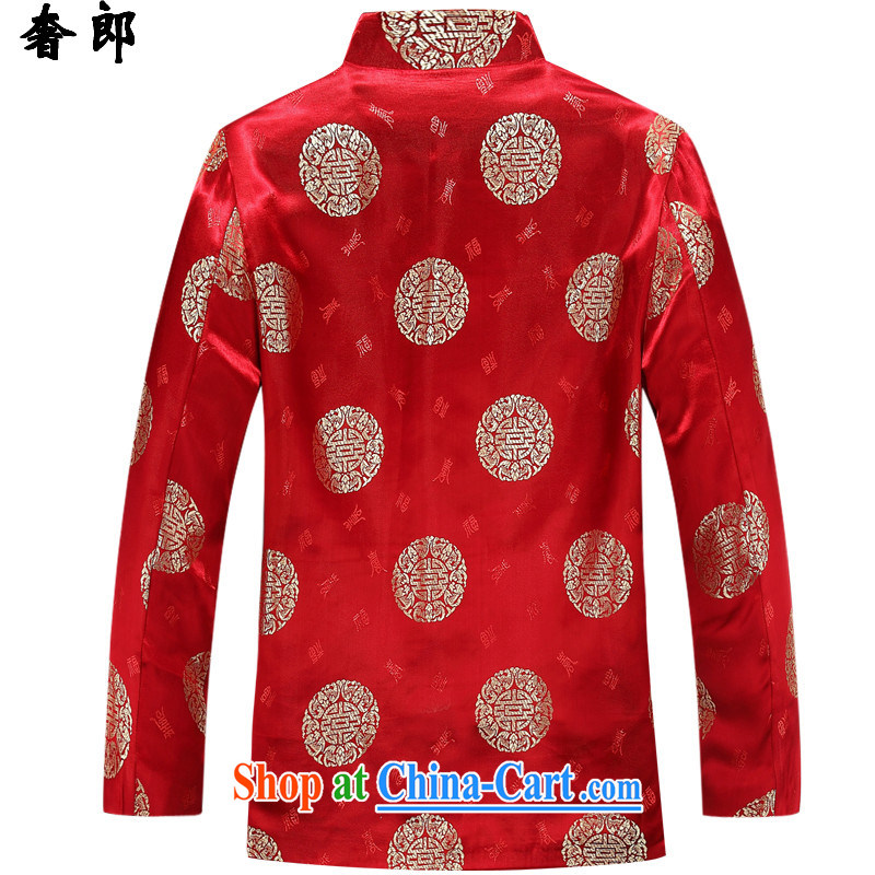 extravagance, Ms. Tang with long-sleeved, older persons life couples Chinese Birthday wedding dress jacket jacket coat Autumn Chinese men and women, couples Tang jackets, extravagance, and shopping on the Internet