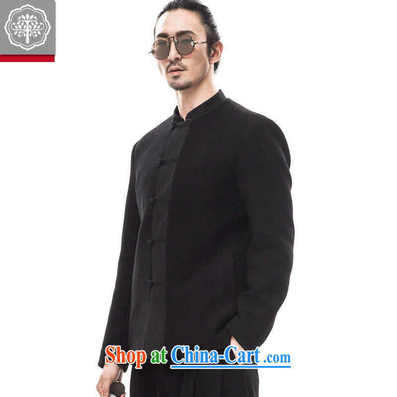 to tree fall 2015 new Chinese men and Chinese, for the charge-back jacket wool jacket that China wind original Hyun-color 185/XXL
